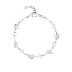 Bracciale Cuori e Perle Donna Mabina – 533312 Bracciali Donna