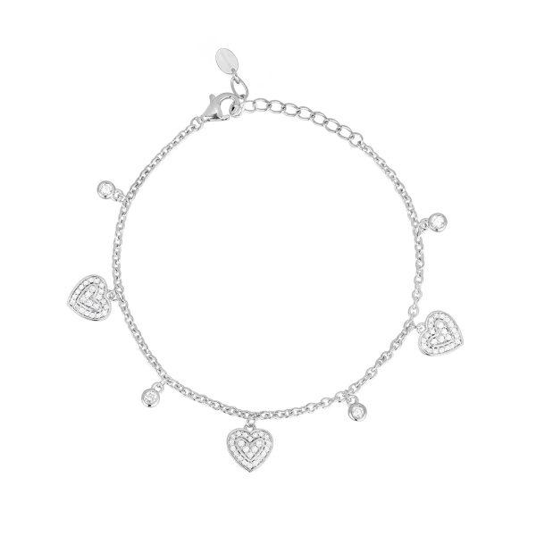 Bracciale Cuori Donna Mabina – 533354 Bracciali Donna