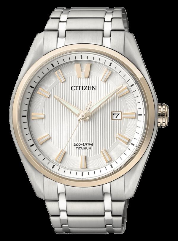 Orologio Uomo Citizen eco Drive Super Titanio – AW1244-56A Brand