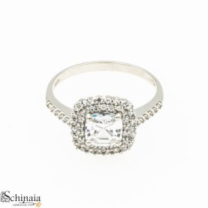 Anelli Oro Bianco Donna 18 KT – AN005 Anelli Donna