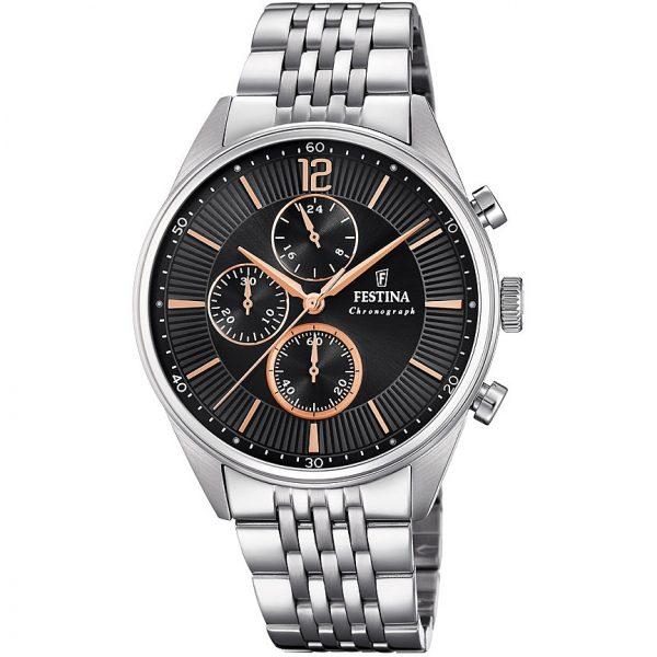 Orologio Uomo Festina Cronografo – F20285/6 Brand